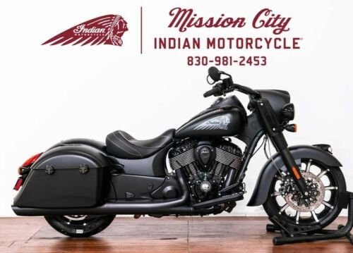 2019 Indian Springfield® Dark Horse® Thunder Black Smoke — Black for sale craigslist