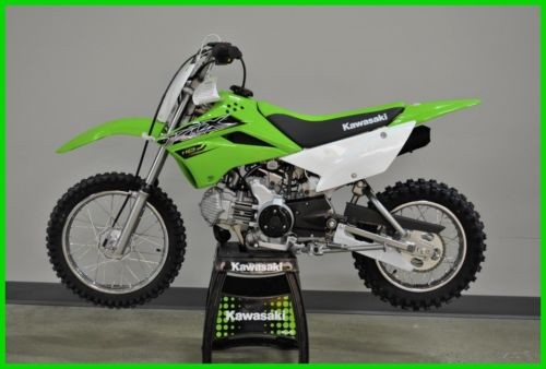2019 Kawasaki KLX 110 LIME photo