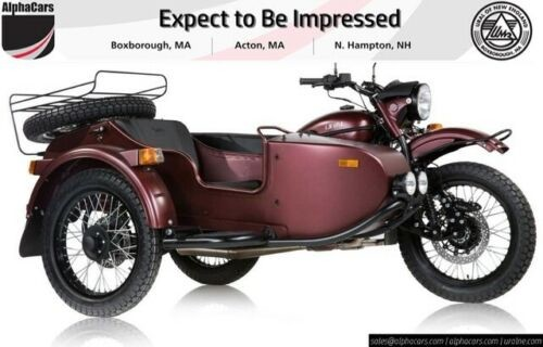 2019 Ural Gear Up Burgundy Satin Burgundy photo