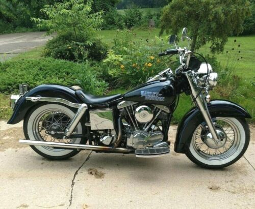 1967 Harley-Davidson FLH Black/Blue for sale craigslist