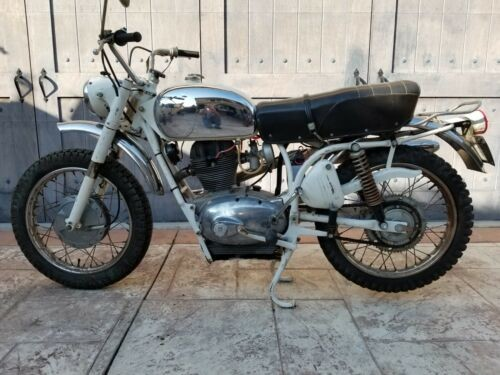 1968 Benelli Scrambler White photo