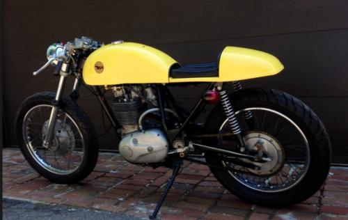 1971 BSA 500 Yellow for sale