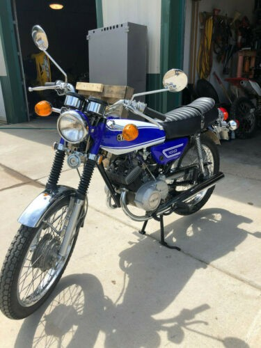 1972 Yamaha LS2 Blue photo