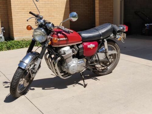 1973 Honda CB Red photo