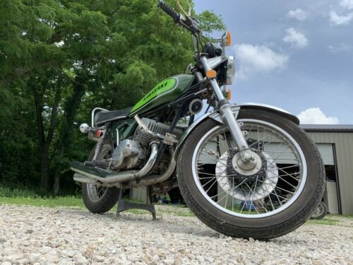 1974 Kawasaki H1 Green photo