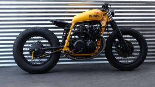 1978 Custom Built Motorcycles Cafe Racer Yellow photo