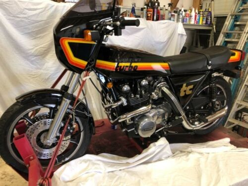 1978 Kawasaki Z1R TC Black photo