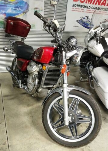 1981 Honda Cx 500 custom -- maroon photo