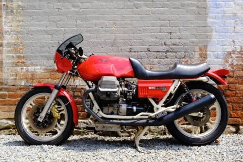 1983 Moto Guzzi Lemans 3 Red photo