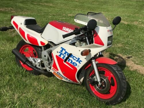 1988 Yamaha YSR 50 White with red photo