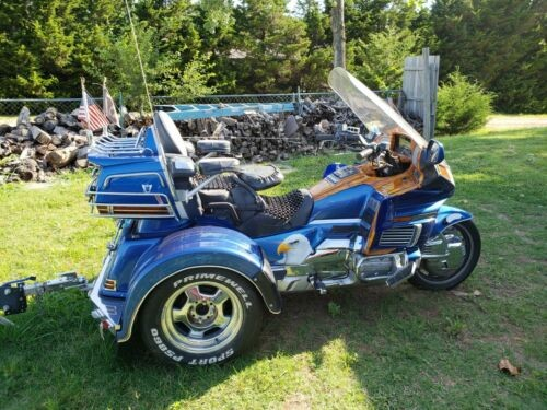 1992 Honda Gold Wing Blue Custom for sale craigslist