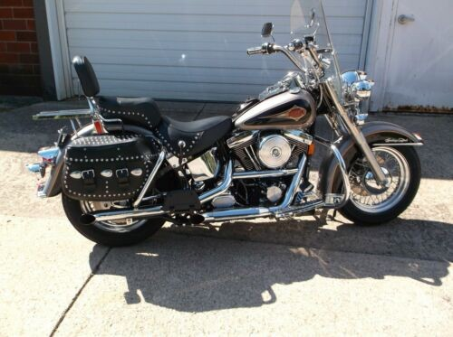 1997 Harley-Davidson Softail Black and Silver photo