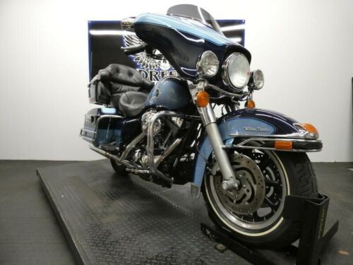 2003 Harley-Davidson FLHTCU - Electra Glide Ultra Classic Injection -- Blue photo