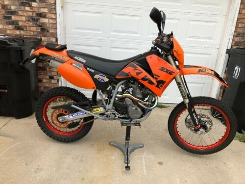 2003 KTM LC4 / SXC ORANGE / BLACK photo