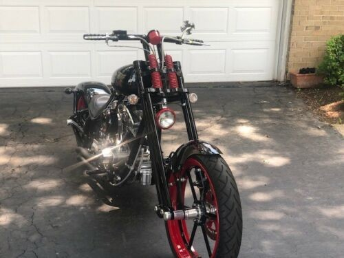 2005 Bourget Python MT Bobber Black photo