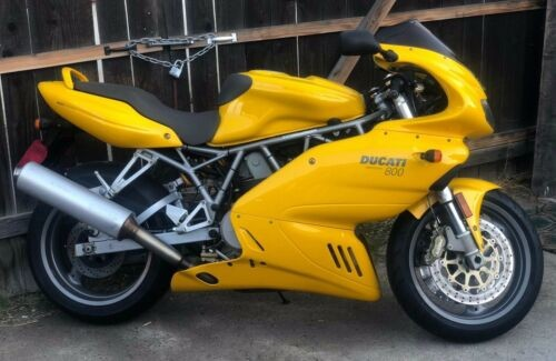2005 Ducati Supersport Yellow photo