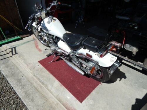 2006 Honda Rebel 250 White photo