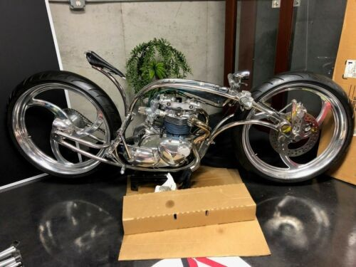 2008 Custom Built Motorcycles Custom Polished Stainless Steel photo