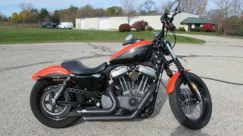 2009 Harley-Davidson Sportster XL1200N - Sportster Nightster Black for sale