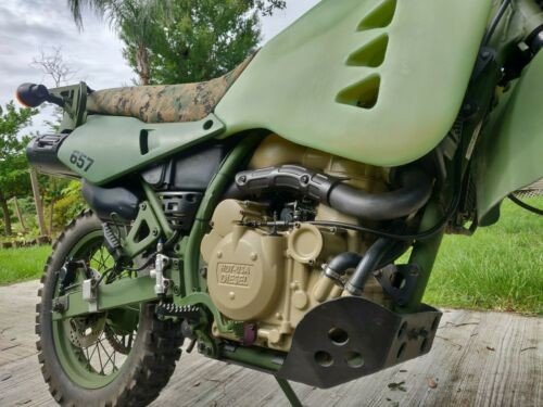 2009 Kawasaki Diesel M1030M1 Green photo