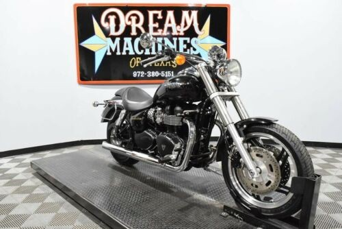 2009 Triumph Speedmaster -- Black photo