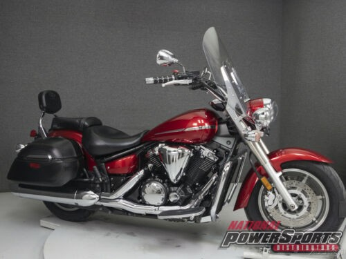 2009 Yamaha XVS1300 VSTAR 1300 TOURER DEEP RED METALLIC for sale