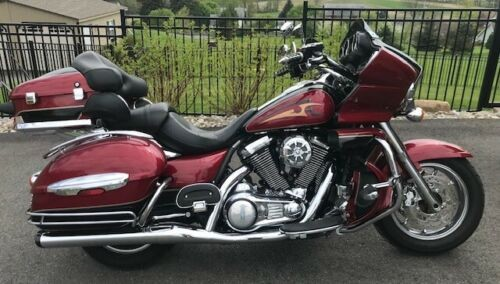 2010 Kawasaki Vulcan Voyager Full Dress Red for sale craigslist
