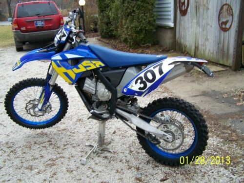 2011 Husaberg 390 FE Blue photo