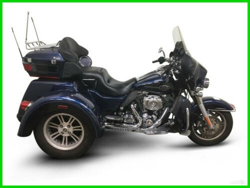 2012 Harley-Davidson FLHTCUTG TRIGLIDE ULTRA CLASSIC CALL (877) 8-RUMBLE Blue photo