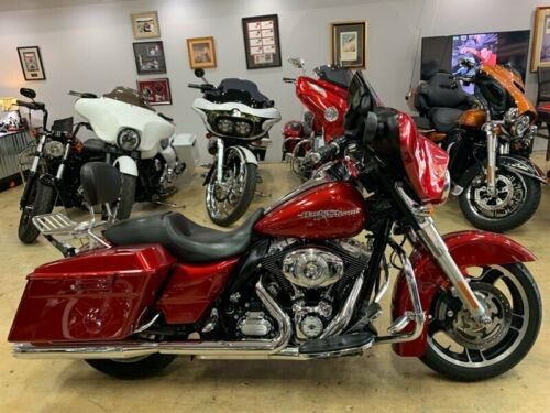 2012 Harley-Davidson Touring Burgundy photo
