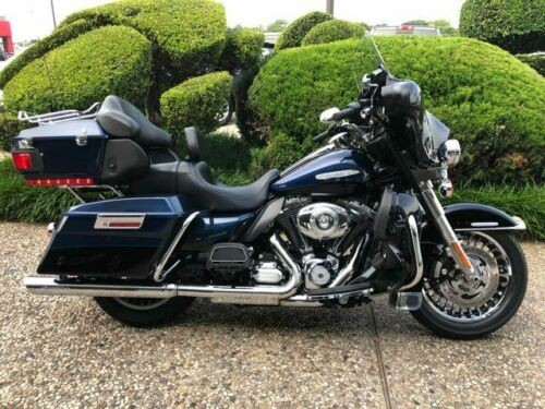 2013 Harley-Davidson Ultra Limited -- Blue photo