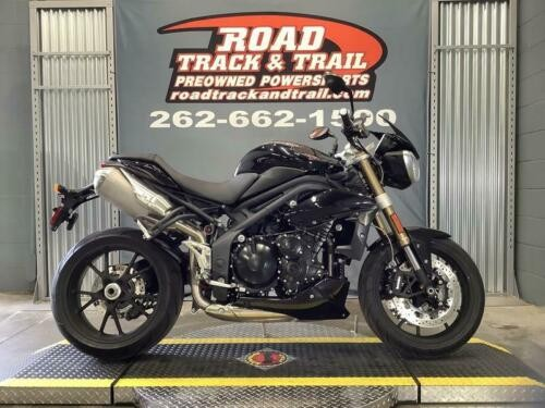 2013 Triumph Street Triple Standard -- Black photo
