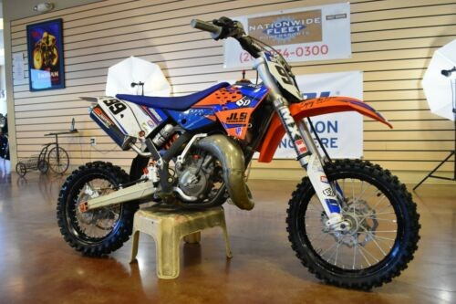 2014 KTM 65 SXS White/Blue/Orange photo