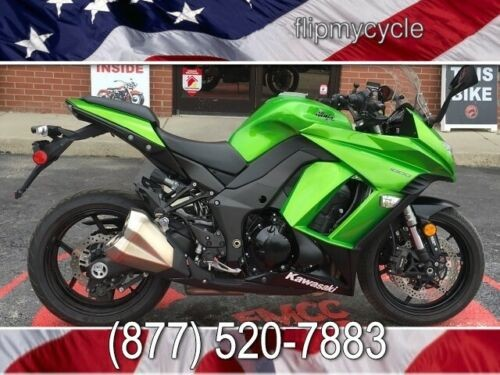 2014 Kawasaki ZX1000-MEF ABS -- Green photo