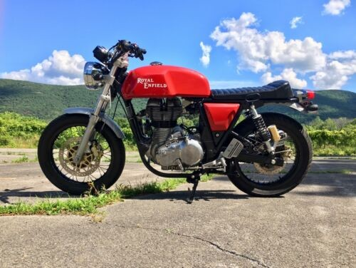 2014 Royal Enfield Continental GT 535 Red for sale