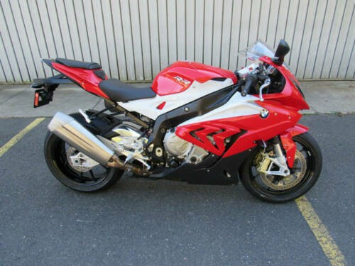 2015 BMW S1000RR -- Red photo