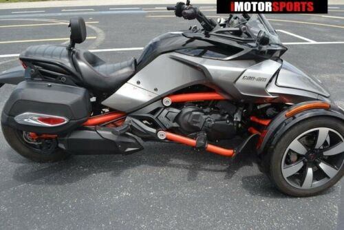 2015 Can-Am Spyder F3 S 6-Speed Semi-Automatic (SE6) -- GRY photo