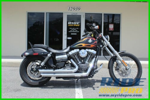 2015 Harley-Davidson Dyna Wide Glide® Black w/Flames photo