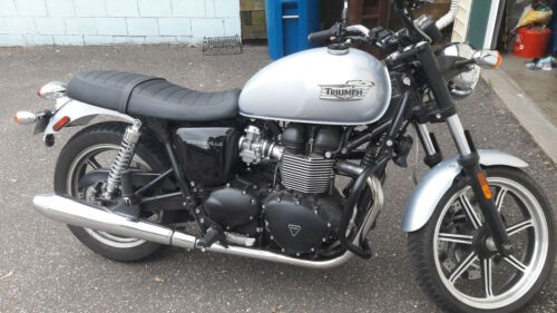 2015 Triumph Bonneville Silver photo
