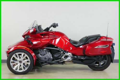 2016 Can-Am Spyder F3 Limited - (Pre-Owned) Intense Red photo