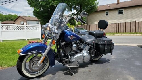 2016 Harley-Davidson Softail FLSTC - Heritage Classic Blue photo