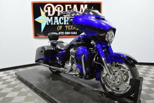 2017 Harley-Davidson FLHXSE - Screamin Eagle Street Glide CVO -- Candy Cobalt and Indigo Ink photo