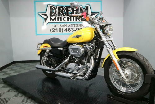 2017 Harley-Davidson XL1200C - 1200 Custom -- Yellow photo