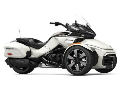 2018 Can-Am Spyder White photo