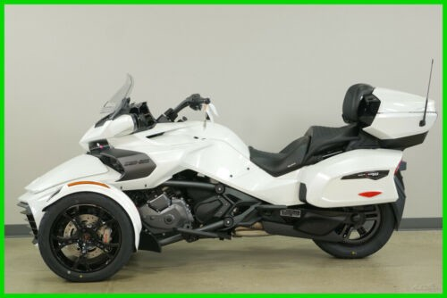 2019 Can-Am Spyder F3 Limited - Dark Edition H9KB Pearl White photo