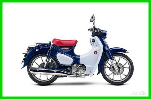 2019 Honda Super Cub Blue photo