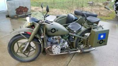 1958 Other Makes CJ750 Green for sale photo