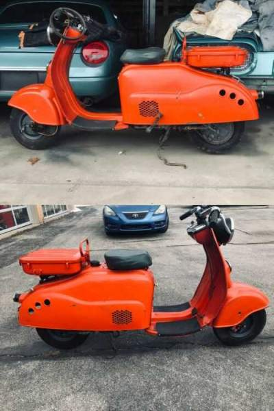 1958 Other Makes scooter Red for sale craigslist photo