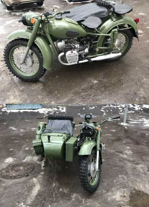 1959 Ural м72 Green for sale craigslist photo