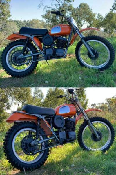 1972 Husqvarna 450 Orange for sale photo